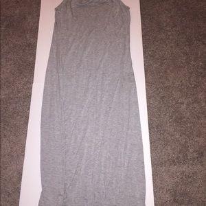 Dresses & Skirts - Grey maxi dress size M